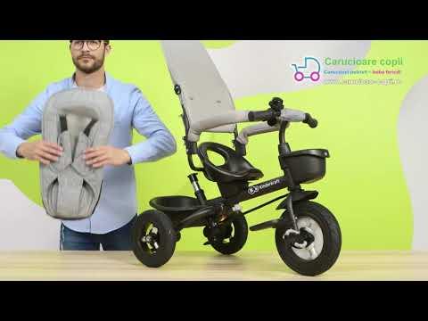 Tricicleta Aveo Kinderkraft Pink 3 in 1 2