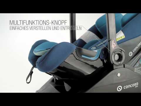 Scaun auto Air Safe Concord 0-13 kg Deep Water Blue 3