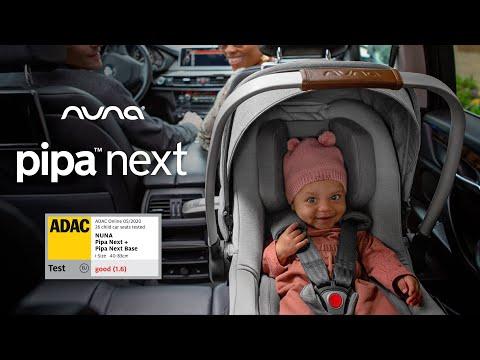 Pachet Scoica auto i-Size Nuna Pipa Next Frost si baza Nuna Next isofix i-Size 6