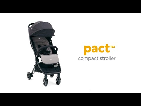 Carucior ultracompact Joie Pact Gray Flannel 1