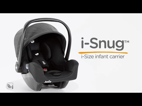 Pachet Joie Stages isofix si scoica Joie i-Snug Gray Flannel 6