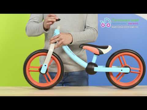 Bicicleta fara pedale Kinderkraft 2Way Next 2021 Light Green 8
