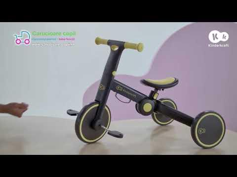 Tricicleta 3 in 1 Kinderkraft 4TRIKE Black Volt 2