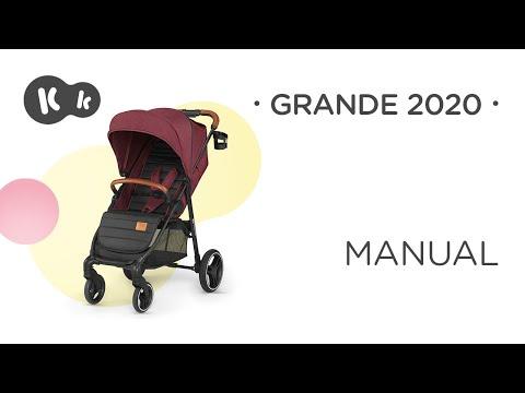 Carucior Grande Kinderkraft Burgundy 2
