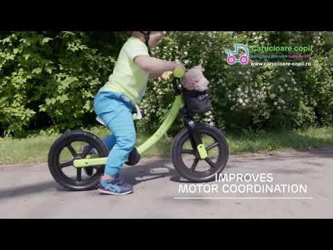 Bicicleta fara pedale Kinderkraft 2Way Next 2021 Light Green 7