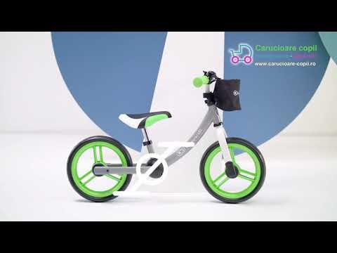 Bicicleta fara pedale Kinderkraft 2Way Next 2021 Light Green 6