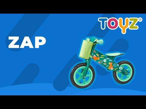 Bicicleta de lemn fara pedale ENDURO Toyz by Caretero Blue 2