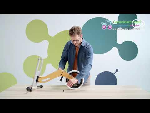 Bicicleta fara pedale Uniq Kinderkraft Pink 5