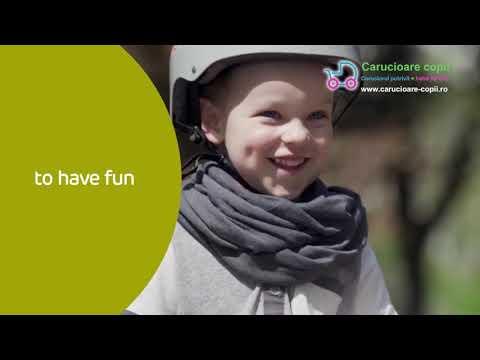 Tricicleta 5 in 1 Kinderkraft EASYTWIST Midnight Green 3