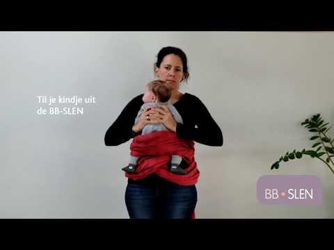 Sistem de purtare wrap tesut Babylonia Trend BB-Slen 560 cm Passion Fruit 1