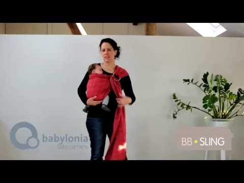 Sistem de purtare sling cu inel trend Babylonia BB-Sling Pineapple 2