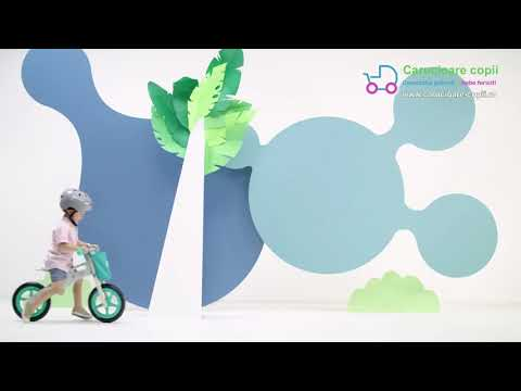 Bicicleta fara pedale Runner Kinderkraft Galaxy Blue 5