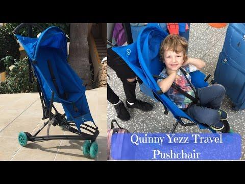 Carucior Yezz Quinny Air Aqua 4