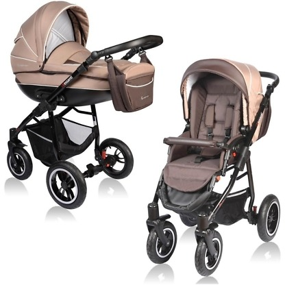 Carucior Crooner Vessanti 2 in 1 Beige