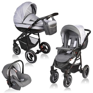 Carucior Crooner Vessanti 3 in 1 Gray