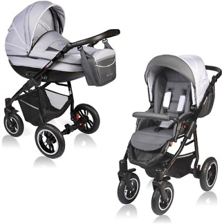 Carucior Crooner Vessanti 2 in 1 Gray