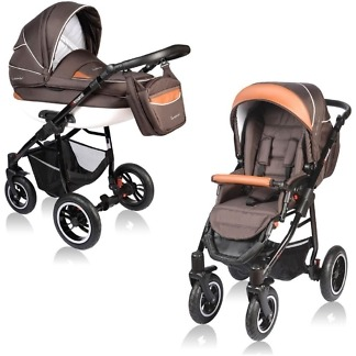 Carucior Crooner Vessanti 2 in 1 Brown