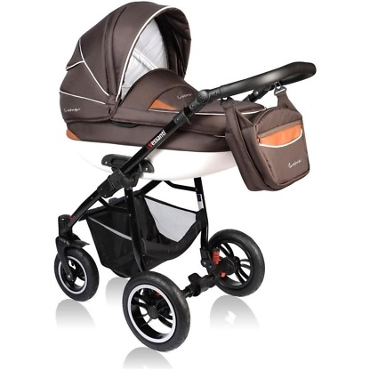 Carucior Crooner Vessanti 2 in 1 Brown 3