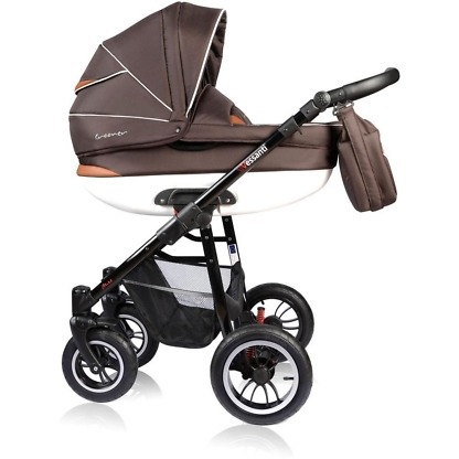 Carucior Crooner Vessanti 2 in 1 Brown 2