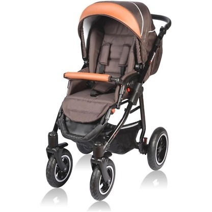 Carucior Crooner Vessanti 2 in 1 Brown 1