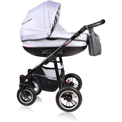 Carucior Crooner Vessanti 2 in 1 Pink - Gray 2