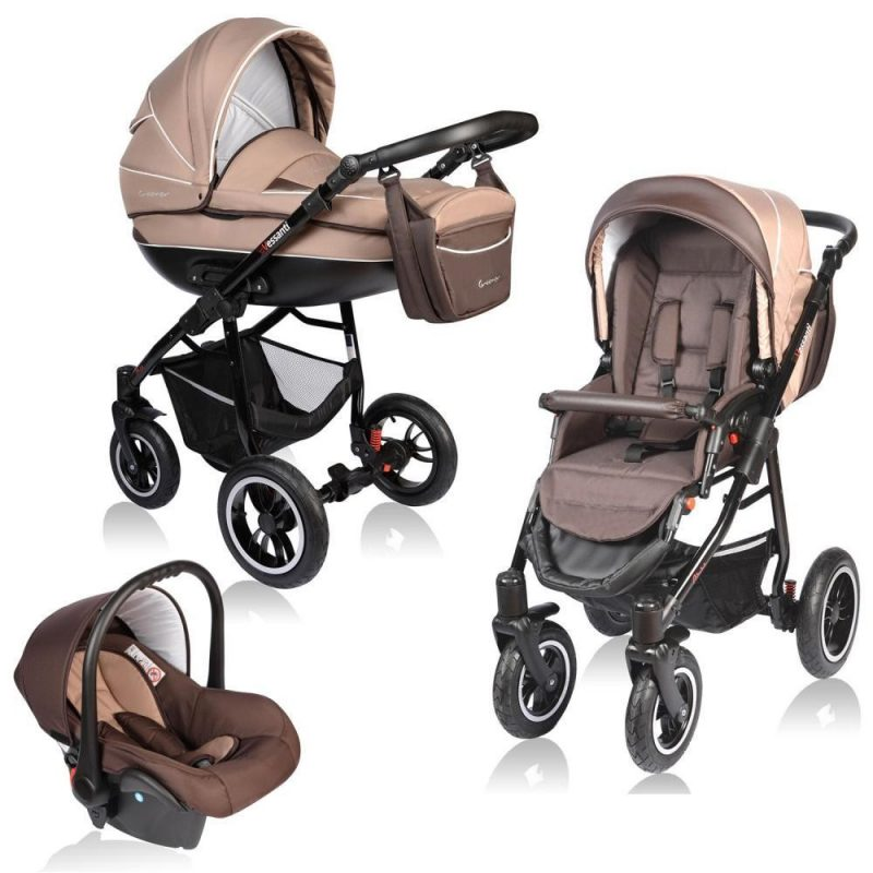 Carucior Crooner Vessanti 3 in 1 Beige 1