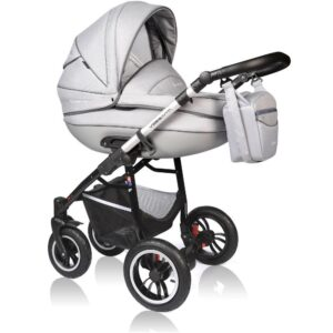 Carucior Crooner Prestige Vessanti 3 in 1 Light Gray 1