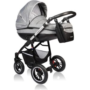 Carucior Crooner Prestige Vessanti 3 in 1 Gray 1