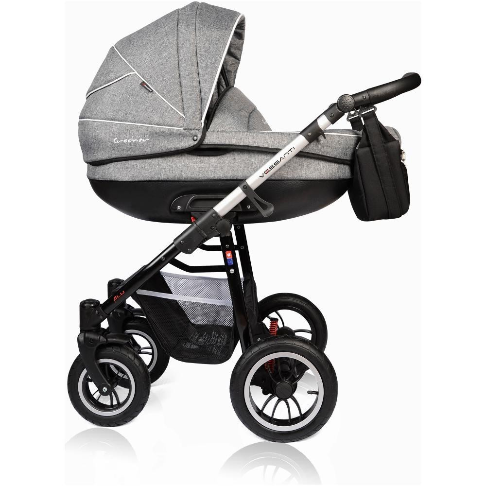 Carucior Crooner Prestige Vessanti 3 in 1 Gray 2