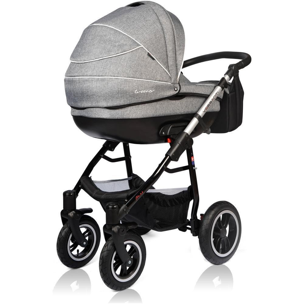Carucior Crooner Prestige Vessanti 3 in 1 Gray 3