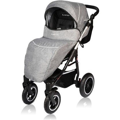 Carucior Crooner Prestige Vessanti 3 in 1 Gray 5