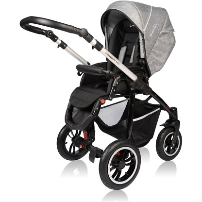 Carucior Crooner Prestige Vessanti 3 in 1 Gray 6