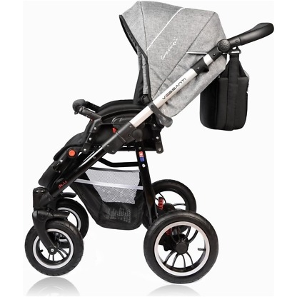 Carucior Crooner Prestige Vessanti 3 in 1 Gray 8