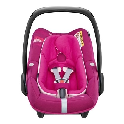 Cos auto Maxi-Cosi Pebble Plus I-Size Frequency Pink 2
