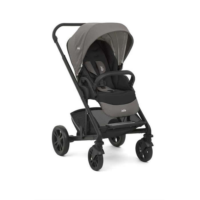 joie carucior multifunctional 2 in 1 chrome foggy gray 1