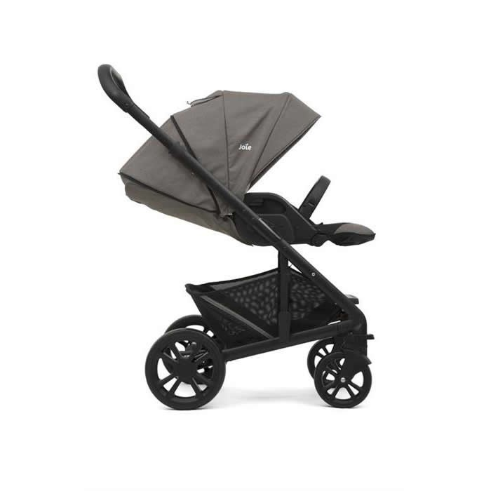 joie carucior multifunctional 2 in 1 chrome foggy gray 3