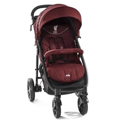 joie carucior multifunctional litetrax 4 flex liverpool red 1