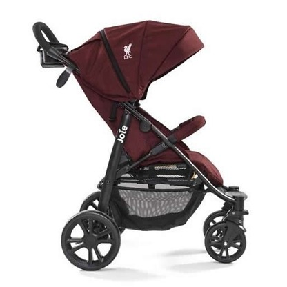 joie carucior multifunctional litetrax 4 flex liverpool red 3