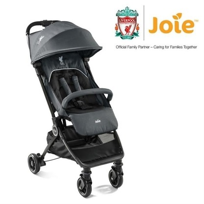 Carucior ultracompact Joie Pact Flex 0 luni Black Liverpool