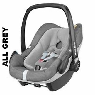 Pachet Cos auto Maxi-Cosi Pebble Plus I-Size si Baza 2wayFix All Grey