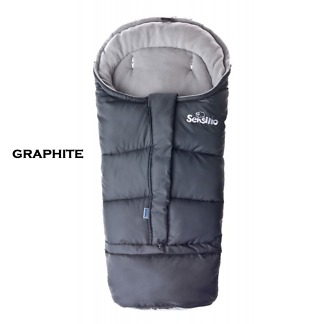 Sac de iarna 3 in 1 polar Sensillo Graphite