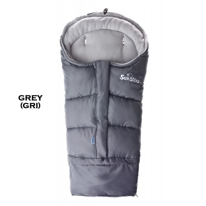 Sac de iarna 3 in 1 polar Sensillo Grey