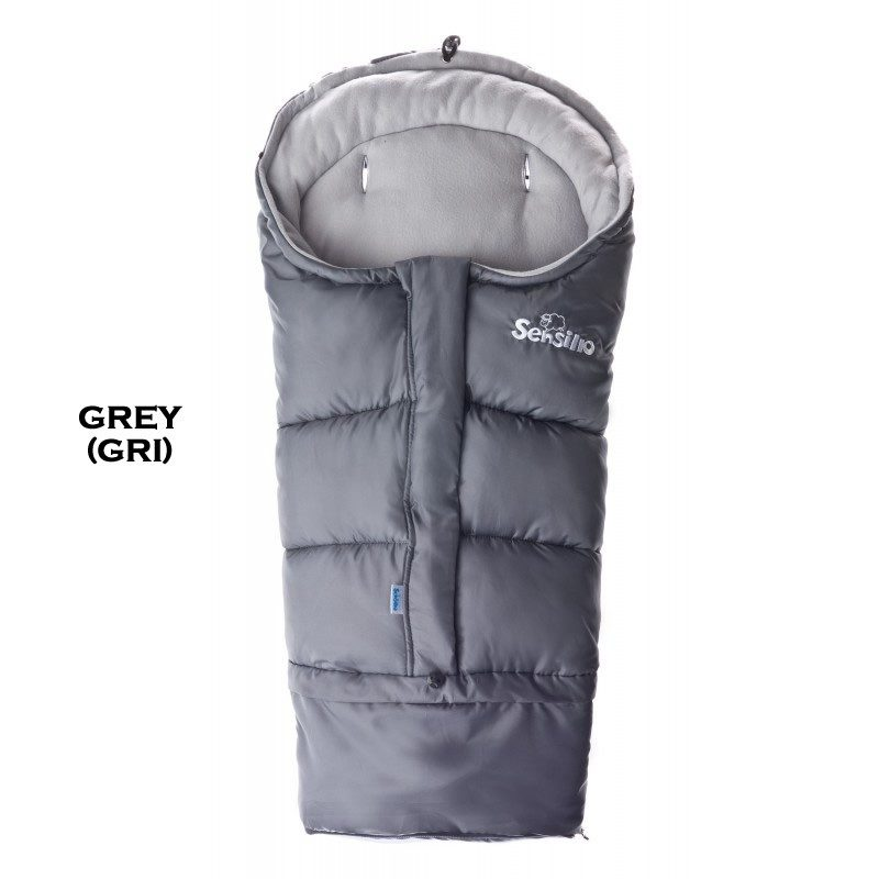 Sac de iarna 3 in 1 polar Sensillo Grey 1