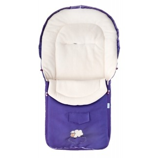 Sac de iarna polar Sensillo Purple