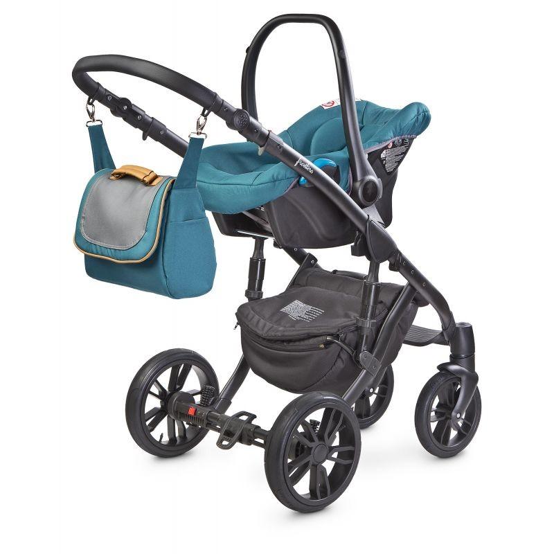 Scaun auto Camini MUSCA 0-10 Kg Turquoise 1