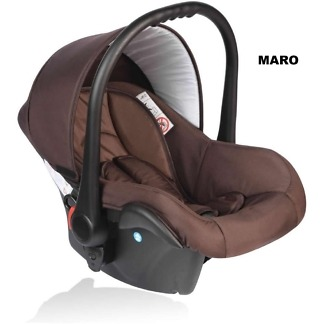 Scoica auto Crooner Vessanti 0-10 kg Brown