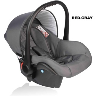 Scoica auto Crooner Vessanti 0-10 kg Red - Gray