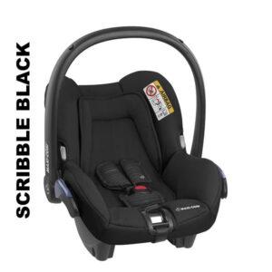 Cos auto Maxi-Cosi Citi 0-13 kg Scribble Black
