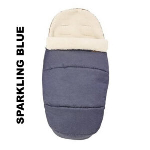 Salopeta de iarna Footmuff 2 in 1 Maxi Cosi Sparkling Blue