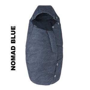Salopeta de iarna General Footmuff Maxi Cosi Nomad Blue
